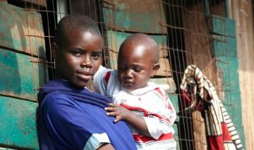 Woman and child from Kuria, Kenya.