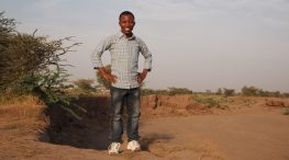 Muzabel Wolengo, founder of SAVIC and author of this article