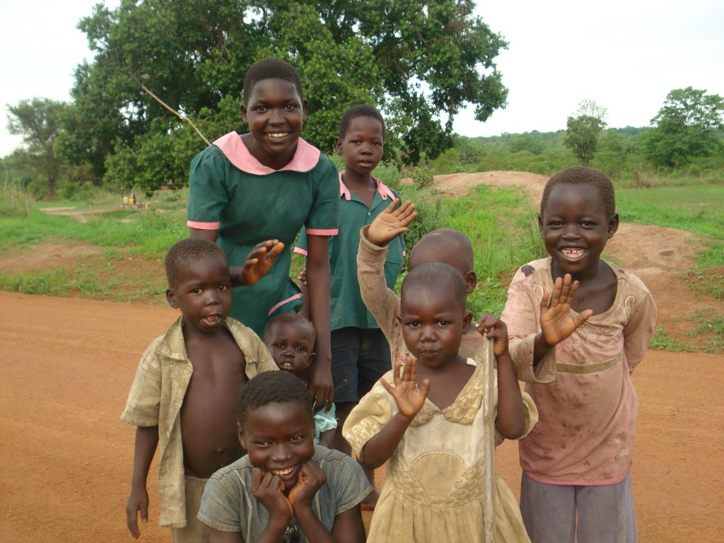 Happier times in South Sudan