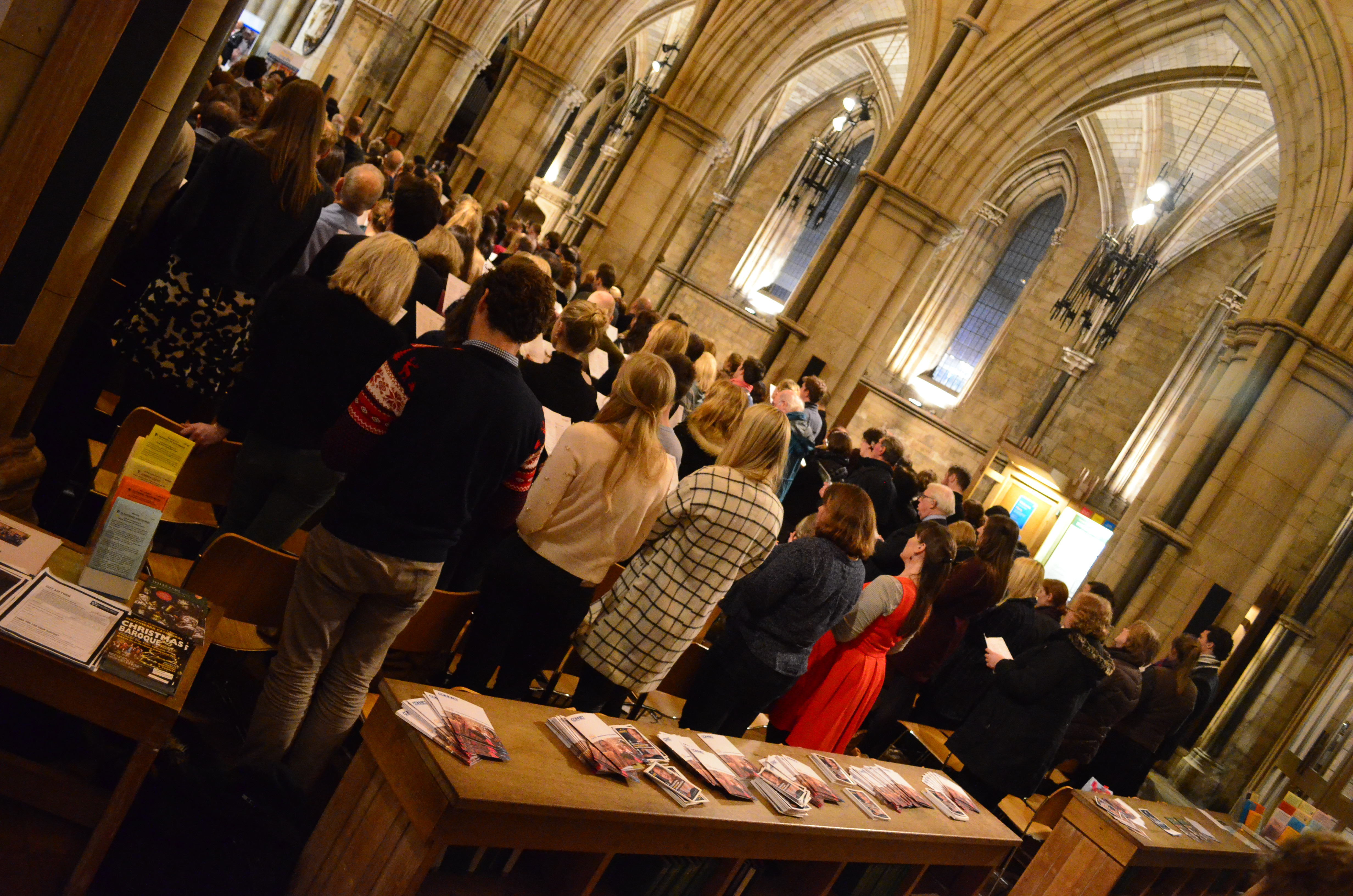 Feed the Minds' Southwark Cathedral Carol Concert