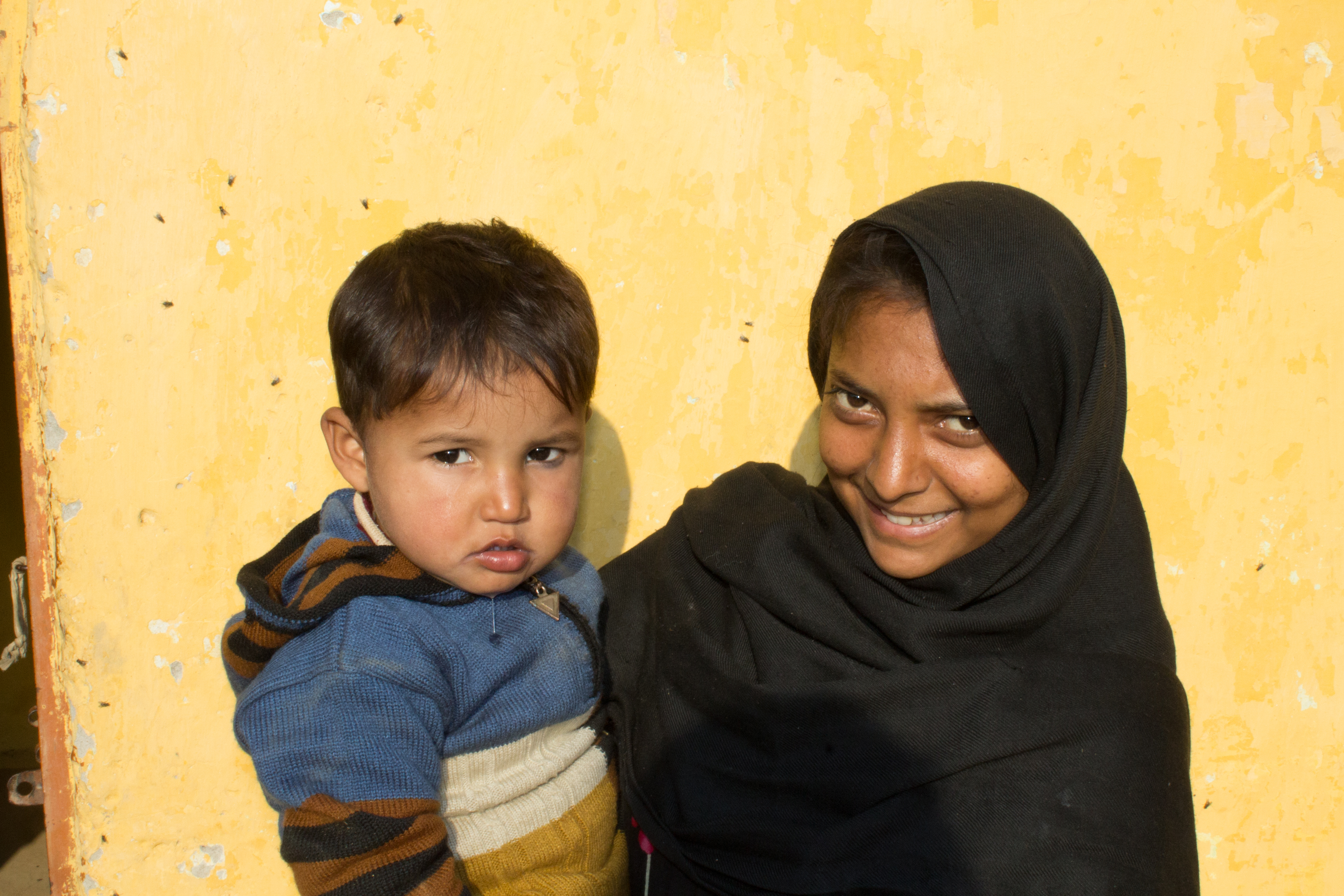 One of the women supported by our project in Pakistan. Photo by Katie Luxton.
